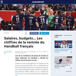 Salaires, budgets... Les chiffres de la rentrée du Handball français - Economie