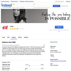 Salaires chez H&M