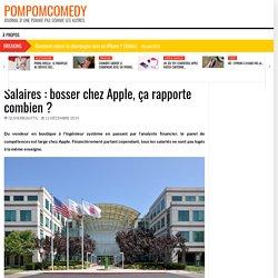 Salaires : bosser chez Apple, ça rapporte combien ?