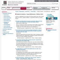 Emploi et salaires - Insee Références - Édition 2014