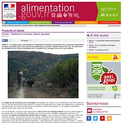 ALIMENTATION_GOUV_FR 28/02/14 Corse : Salaisons à haute valeur ajoutée