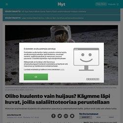 Oliko kuulento vain huijaus? Käymme läpi kuvat, joilla salaliittoteoriaa perustellaan - Nyt.fi