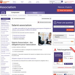 Salarié association : le statut de salarié en association
