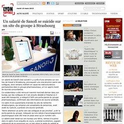 Un salarié de Sanofi se suicide sur un site du groupe à Strasbourg