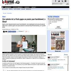Elbeuf. Une salariée de La Poste gagne un procès pour harcèlement, à Elbeuf « Article « Le Journal d'Elbeuf