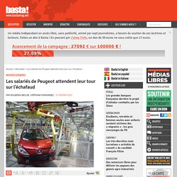 Les salariés de Peugeot attendent leur tour sur l'échafaud