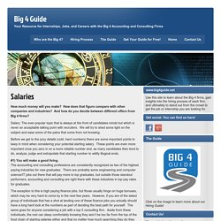 Big 4 Guide