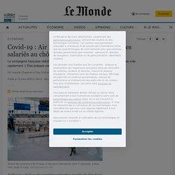 Covid-19: Air France va mettre 80% de ses salariés au chômage partiel