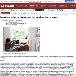 Vie de bureau : Attention, salariés accros au boulot