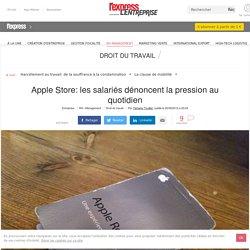 Apple Store: les salariés dénoncent la pression au quotidien