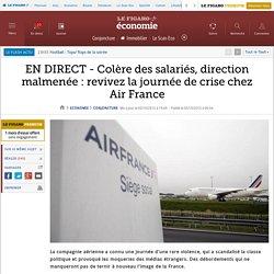 EN DIRECT - Colère des salariés, direction malmenée : revivez la journée de crise chez Air France