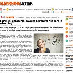 Comment engager les salariés de l'entreprise dans le e-learning ?