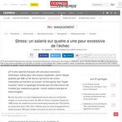 Stress au travail: 27% des salariés français ont une peur excessive de l'échec (enquête IME)