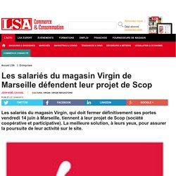 Les salariés du magasin Virgin de Marseille... - Loisirs, culture