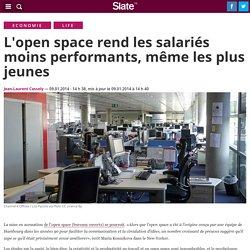 L'open space rend les salariés moins performants, même les plus jeunes