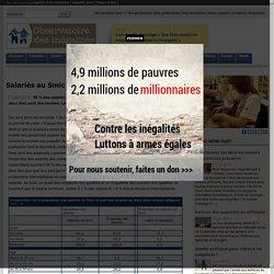 Salariés au Smic: portrait d'une France populaire