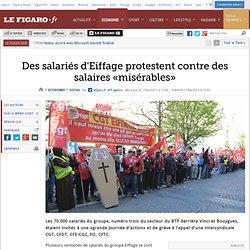 Des salariés d'Eiffage protestent contre des salaires «misérables»