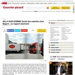 AILLY-SUR-SOMME Santé des salariés chez Bigard : un ...