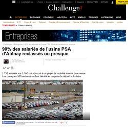 90% des salariés de l'usine PSA d'Aulnay reclassés ou presque - 10 janvier 2014