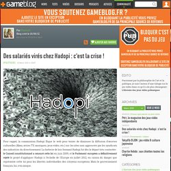 Analyse du bilan d'Hadopi par un bloggeur