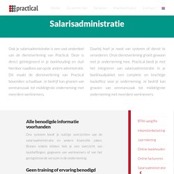 Salarisadministratie benodigd? - Practical Accounting