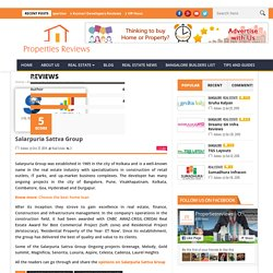 Salarpuria Sattva Group Review - Propertiesreviews