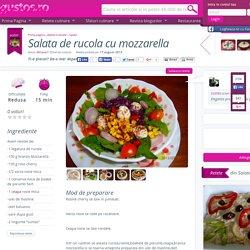 Salata de rucola cu mozzarella
