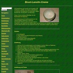 Salbenküche: Brust-Lanolin-Creme