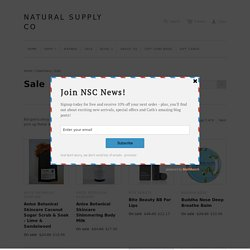 Sale – Natural Supply Co