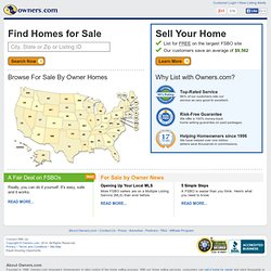 Homes For Sale By Owner - Search, Buy, Sell - Owners.com Real Estate