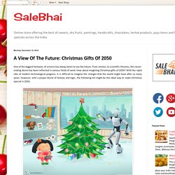 SaleBhai: A View Of The Future: Christmas Gifts Of 2050
