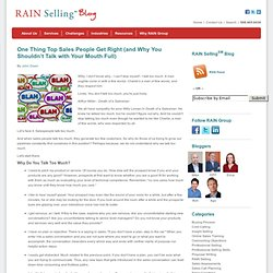 Sales Conversations and What Top Sales People Do (and Don't Do) - RAIN Group