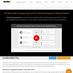 Best Tool for Sales Prospecting