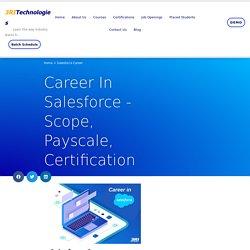 Is Salesforce Career a good choice? 3RI Technologies