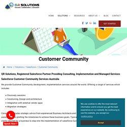 Salesforce Customer community