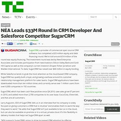 NEA Leads $33M Round In CRM Developer And Salesforce Competitor SugarCRM