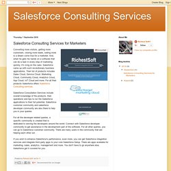 Find Best Salesforce Consulting Services