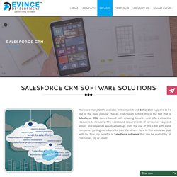 Salesforce CRM software solutions