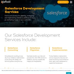 Salesforce Consulting Service