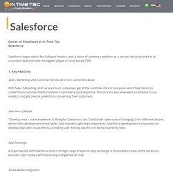 Best Salesforce Development Company in India