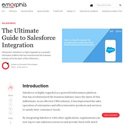 The Complete Guide of Salesforce Integration Services