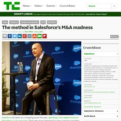 The method in Salesforce's M&A madness