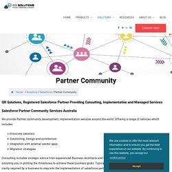 Salesforce partner community
