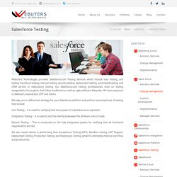 Salesforce Testing Services