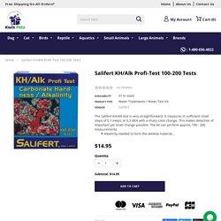 Salifert KH/Alk Profi-Test 100-200 Tests – Kwik Retail LLC
