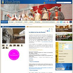 Salle du Jeu de Paume Versailles