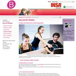 AB 7 - Salles de travail, INSA Toulouse