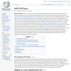 Sallie McFague - Wikipedia