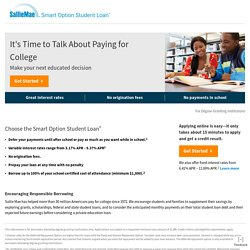 The Sallie Mae Smart Option Student Loan