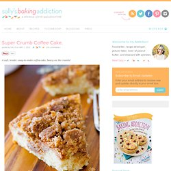 Sallys Baking Addiction Super Crumb Coffee Cake. » Sallys Baking Addiction